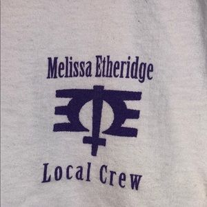 Melissa Ethridge Local Crew T Shirt XL